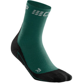 cep Winter Short Socks Women green/black